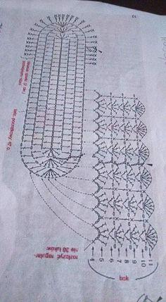 How to crochet an oval bottom for bags Not only about Crochet .Pretty Photo of Crochet Oval Pattern Crochet Oval Pattern Emmhouse T Shirt Yarn Cross Body Bag Free Crochet Tunic Pattern, Crochet Lace Edging, Crochet Motifs, Crochet Diagram, Crochet Doilies, Crochet Stitches, Free Crochet, Crochet Patterns, Booties Crochet