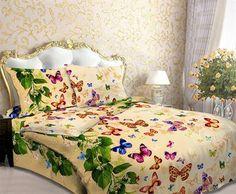 Holey Quilt obliečky Bavlna Kornélia 140x200, 70x90cm Comforters, Butterfly, Quilts, Blanket, Furniture, Bedding, Home Decor, Homemade Home Decor, Linens