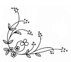 Th is very simple but lovely embroidery pattern will enhance the beauty of towel corners. This could be an amazing pattern for beginners...