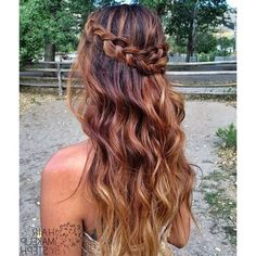 Half Up Half Down Prom Hairstyles Hairstyle ❤ liked on Polyvore featuring hair