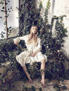 The Greenhouse: Astrid Eika by Sean McMenomy for Elle Denmark May 2016
