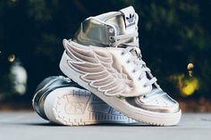 """adidas Jeremy Scott Wings 2.0 """"Metallic Silver"""""""