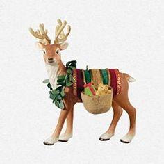 Father Christmas'S Reindeer Hallmark 2013 LTD Keepsake Ornament Premiere Event | eBay