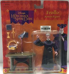 (TAS020654) - Disney's The Hunchback of Notre Dame - Frollo Action Figure