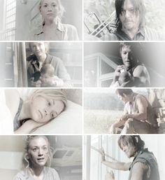 Daryl e Beth season 2, 3, 4 e 5