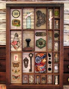 Liz Mathews: Create: Collage Box- FINISHED!