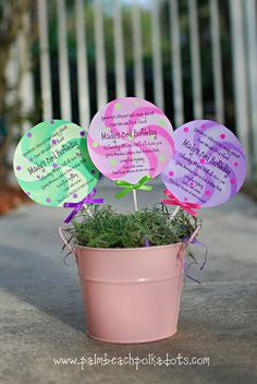 Candyland Lollipop Birthday Invitation by palmbeachpolkadots, $2.00