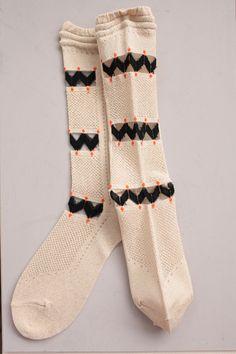 ANTIPAST : wings smile socks