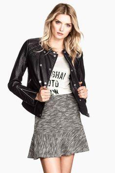 Falda en tejido sudadera 14,99 € - H&M