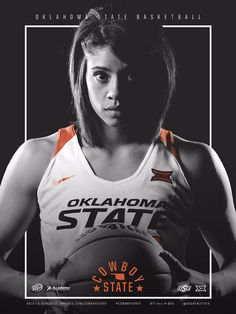 2015-16 Oklahoma State  Women's Basketball Poster