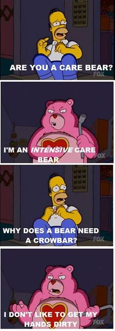 The intensive care bear!