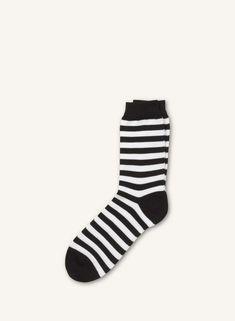 Raitsu -sukat - valkoinen, musta  - Marimekko.com Marimekko, Socks, Fashion, Moda, La Mode, Sock, Fasion, Stockings, Fashion Models