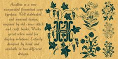 Azalleia - Webfont & Desktop font « MyFonts nice ornaments