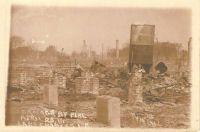 Calcasieu Parish Postcard Records 1910 Fire