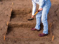 DIYNetwork.com has simple step-by-step instructions on how to build outdoor step using bricks and patio pavers.