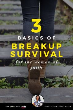 3 Basics of Breakup Survival for the woman of faith | Breakup | Breakup quotes | getting over a Breakup | Breakup motivation | Breakup challenge | Breakup advice | Breakup help | Breakup recovery | moving on | Breakup hurt | Breakup heartbreak | Breakup relationship | what to do after a Breakup