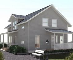 A modern two storey 4 bed family home Construction Services, Double Room, Ground Floor, Home And Family, Shed, Outdoor Structures, Flooring, Mansions, House Styles