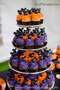 Mickey Mouse Disney Halloween Cupcakes by Frost Me Sweet