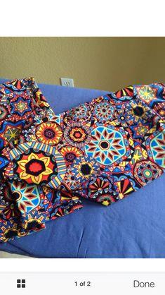 Lularoe leggings kaleidoscope print