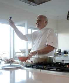A great shot of Rick from one of his cooking demos at Bannisters Mollymook. Rick Stein, Great Shots, Chefs, Cooking, Recipes, Food, Kitchen, Essen, Eten