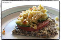 {Recipe;Vegan MoFo} Tomato and Basil Sunflower Flax Crackers