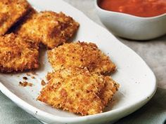 Fried Ravioli with Marinara Sauce recipe from Betty Crocker
