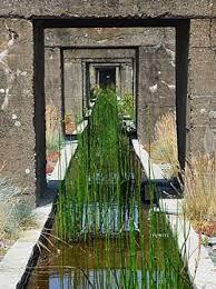 38 utilisation décor arcades contemporain gilles clement Ferns Garden, Garden Pool, Landscape Architecture, Landscape Design, Gilles Clement, Rain Garden Design, Genius Loci, Sense Of Place, Parcs