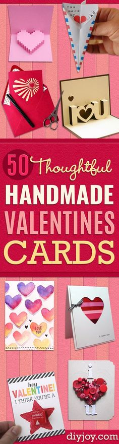 Cool Diy Valentine Gifts  Diy Valentine Homemade Cards And