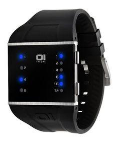 """The One Herren-Armbanduhr """"Slim"""" SLS102B3 - http://uhr.haus/unbekannt/schwarz-the-one-herren-armbanduhr-slim-sls102b3"""