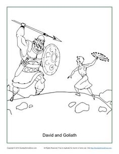 Abraham offers isaac coloring page abraham isaac for David and goliath coloring pages for preschoolers
