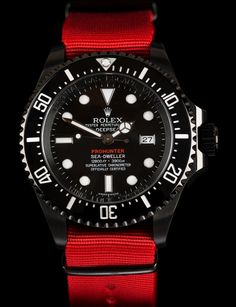 The Pro-Hunter Single Red Military Deep-Sea