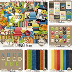 That's What She Read with Tami Miller Designs: Bundle