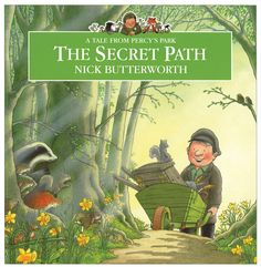 Children's Book - Tales from Percy's Park: The Secret Path by Nick Butterworth Percy The Park Keeper, Stone Lion, Butterworth, Children's Book Illustration, Woodland Animals, Book Authors, Childrens Books, The Secret, Paths