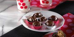 Chocolate Peanut Butter Balls with crispy rice. recipe