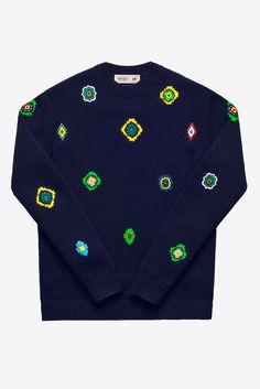 Here's Every Single Piece From H&M x Kenzo's 110-Item Collection #refinery29 http://www.refinery29.com/2016/10/126037/hm-kenzo-full-collection-photos#slide-41 H&M x Kenzo Sweatshirt, $99, available on November 3 at H&M....