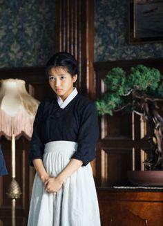 Kim Tae-ri in 'Agasshi/The Handmaiden' (2016).