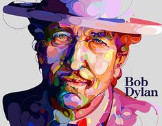 """Check out new work on my @Behance portfolio: """"Bob Dylan"""" http://be.net/gallery/52281625/Bob-Dylan"""