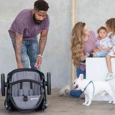 Joovy - poussette qool - gris melange Double Baby Strollers, 3 Kids, Children, Folded Up, Essentials, Three Kids, Bebe, Baby Newborn, Young Children
