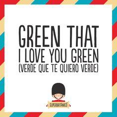 Verde que te quiero verde traduction