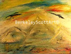 """Mountain Top"" 18x24"" Acrylic on Canvas By Berkeley Scott"