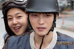 Triangle | YoungDal (Jaejoong) and JungHee (JinHee)