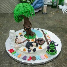 frikicake pastel friki aventuras graficas.  hand of fate, loom, fate of atlantis, kimgs quest V, day of tje tentacle, monkey island
