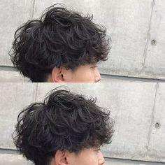 Ideas haircut for men design Curly Hair Cuts, Cut My Hair, Short Curly Hair, Short Hair Cuts, Curly Hair Styles, Tomboy Hairstyles, Permed Hairstyles, Pretty Hairstyles, Shot Hair Styles