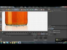 Cinema 4d Tutorial : how to make a bottle - YouTube