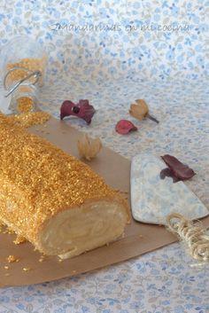 2Mandarinas en mi cocina: Brazo gitano relleno de lemond curd