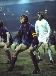 Johan Cruyff, Barcelona vs Leeds United, 1975