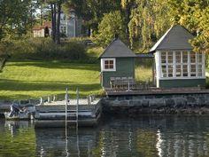 Ahh, lovely Villa Eckbacken on Stegesund Island.