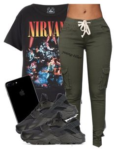 A fashion look from November 2016 featuring vintage t shirts and nike sneakers. Browse and shop related looks. Lit Outfits, Cute Swag Outfits, Teen Fashion Outfits, Dope Outfits, Outfits For Teens, Trendy Outfits, Fall Outfits, Summer Outfits, Teenager Outfits