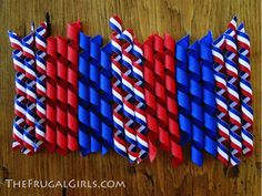 How To Make Korker Bows in 4th of July, Crafts, Hair and Makeup