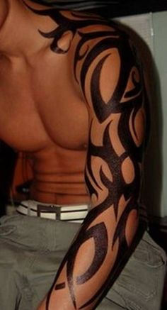 #tribal #tattoo #tribaltattoo